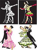 ballroom dancing - dancers