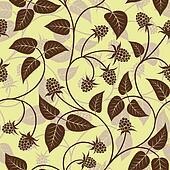 raspberry seamless background