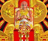 Egyptian Pharaoh Ramses Fantasy