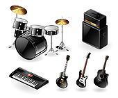 Modern musical instruments