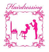 The hairdressing salon