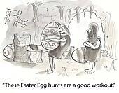 Caveman eggs