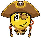 pirate smiley 03
