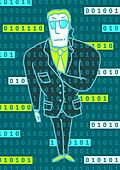 Digital security guard protecting information technology reachin