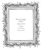 frame vine natural art
