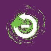 Grunge Less Arrow v3