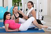 Female gym class
