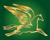 flying horse Pegasus