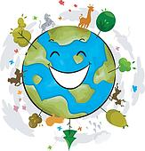 Earth Mascot
