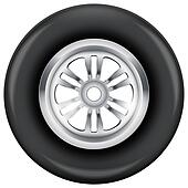 wheel and tire symbol