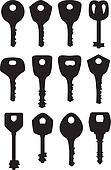 set key silhouette