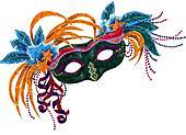Mardi Gras Orleans Mask