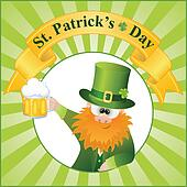 St. Patrick's Day Cartoon Vector
