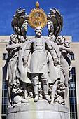 George Gordon Memorial Civil War Statue Pennsylvania Ave Washing