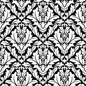 Damask seamless pattern