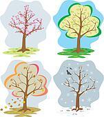 four seasons - tree