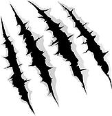 claws scratches clip art royalty free gograph panther claw marks clipart bear claw marks clipart