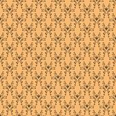 Seamless Peach Damask
