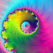 Color Wash Spiral