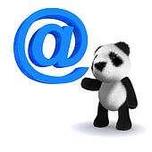3d Panda has an email address