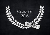 silver laurel for 2016 graduation