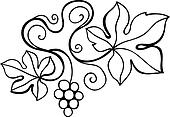 Vine design element