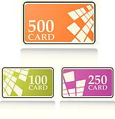 the color vector gift and bonus cards