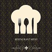 The concept of Restaurant menu.