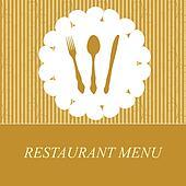 The concept of Restaurant menu.