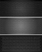Set metallic perforated sheet