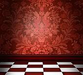 Red Damask Room