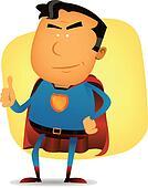 Comic Superman Character