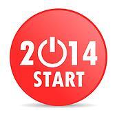 year 2014 web icon