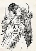 fancy woman 18 century