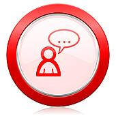 forum icon chat symbol bubble sign