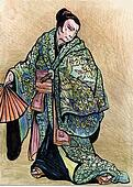illustration of a Samurai warrior