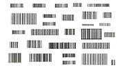 Stripes of barcode