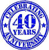 Celebrating 40 years anniversary gr