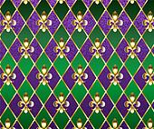 Jewelry background Mardi Gras