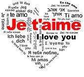 Je t'aime