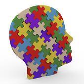3d puzzle head
