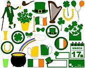 Illustration of Saint Patrick's Day