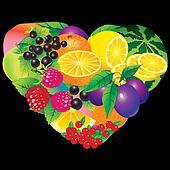 Fruits frame.
