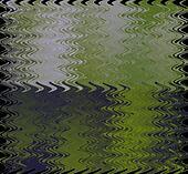 Green Purple Ripple Background
