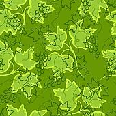 Grape seamless background.