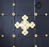 cross on the door