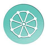 buddhism symbol  illustration