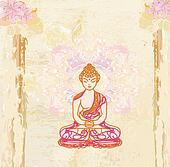 Chinese Traditional Artistic Buddhi