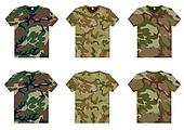 Men's Military T-Shirts v-neck