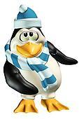 Shy Male Penguin